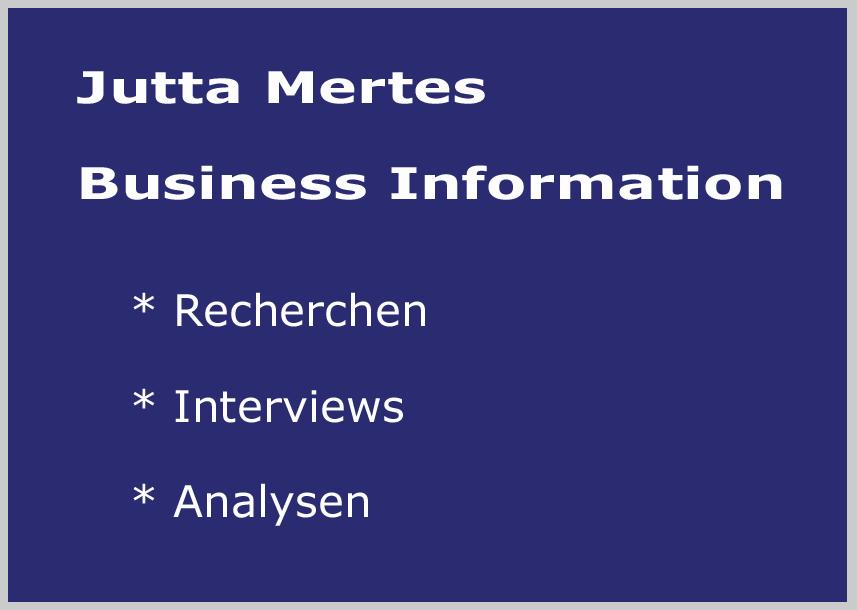 Jutta Mertes Business Information